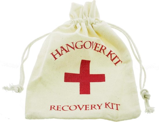 10 Zakjes Hangover Kater Recovery Kit