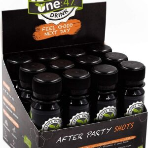 12 Anti Kater Shots van One, After Party Drink