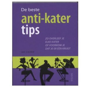 Boek: De Beste Anti Kater Tips