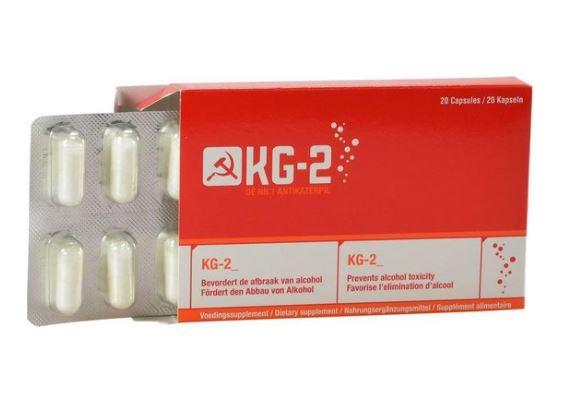 Anti-kater pillen - Kg2 (20 capsules)